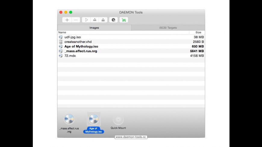 daemon tools lite mac os x free download