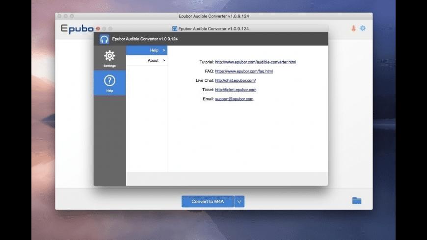 Epubor Audible Converter for Mac - review, screenshots