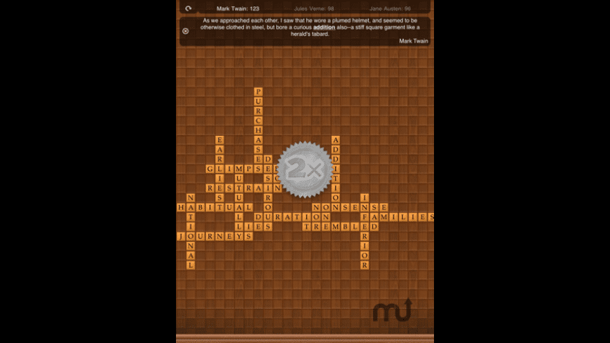 Double Across - Crossword Puzzle Board Game for Mac - review, screenshots