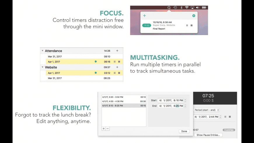 Tracktiq for Mac - review, screenshots