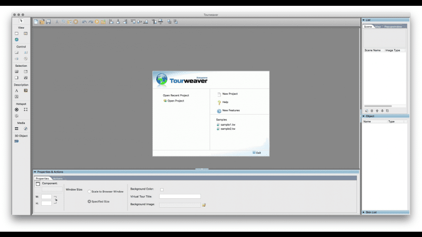Tourweaver Professional for Mac - review, screenshots