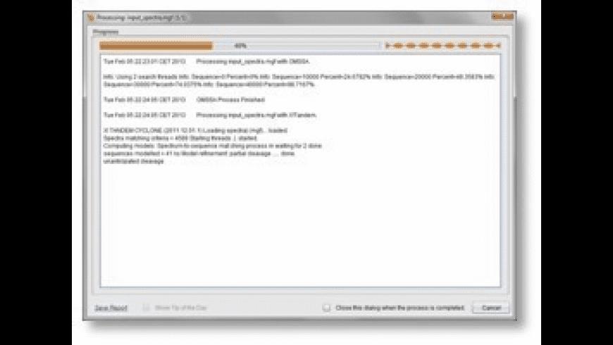 SearchGUI for Mac - review, screenshots