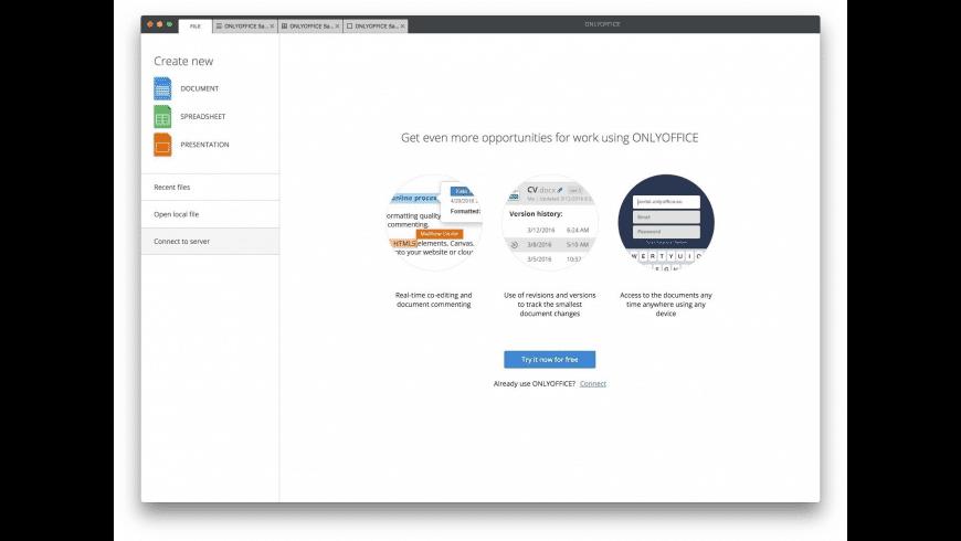 ONLYOFFICE Desktop Editors for Mac - review, screenshots
