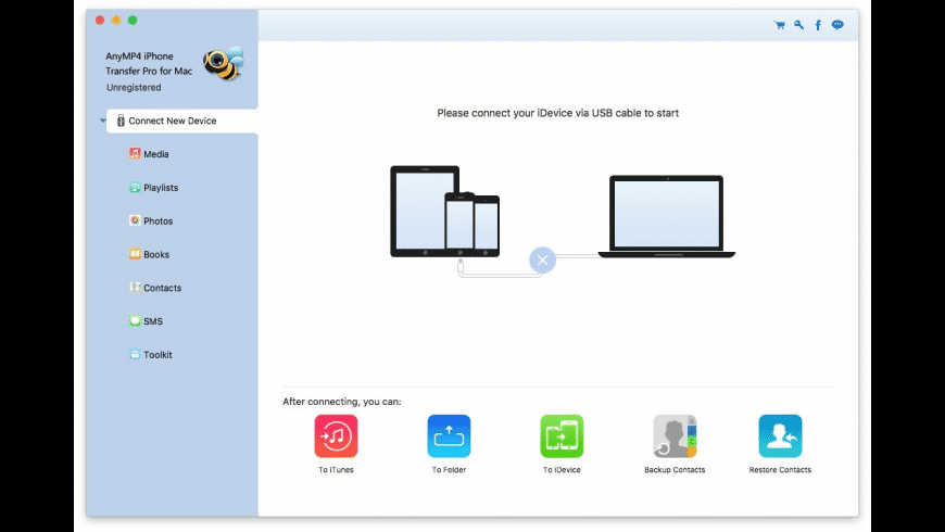 AnyMP4 iPhone Transfer Pro for Mac - review, screenshots