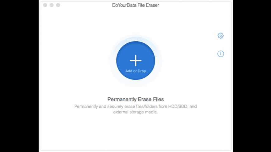 DoYourData File Eraser for Mac - review, screenshots