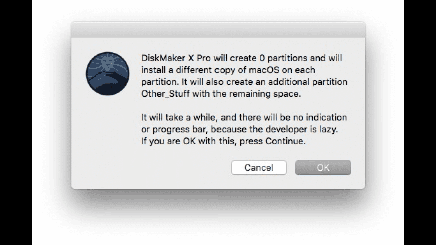 DiskMaker X Pro for Mac - review, screenshots