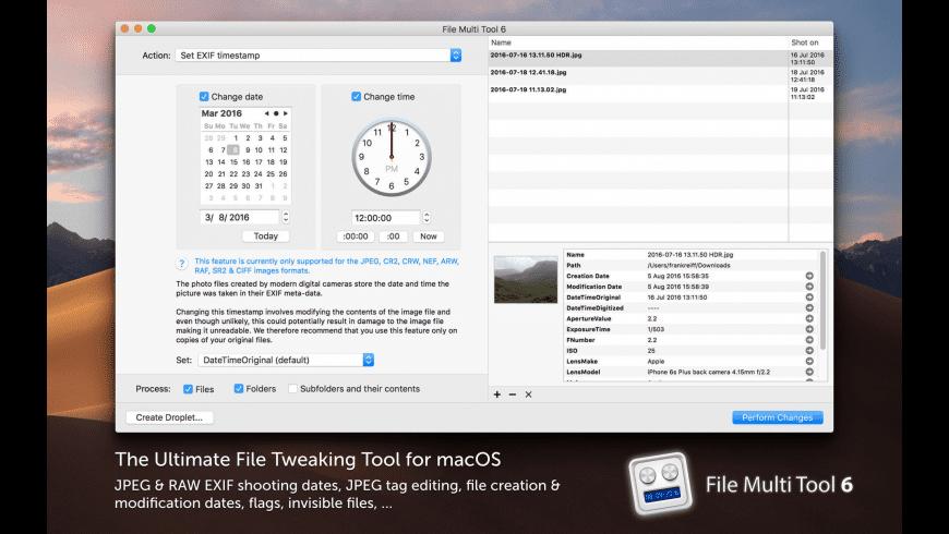 File Multi Tool 6 for Mac - review, screenshots
