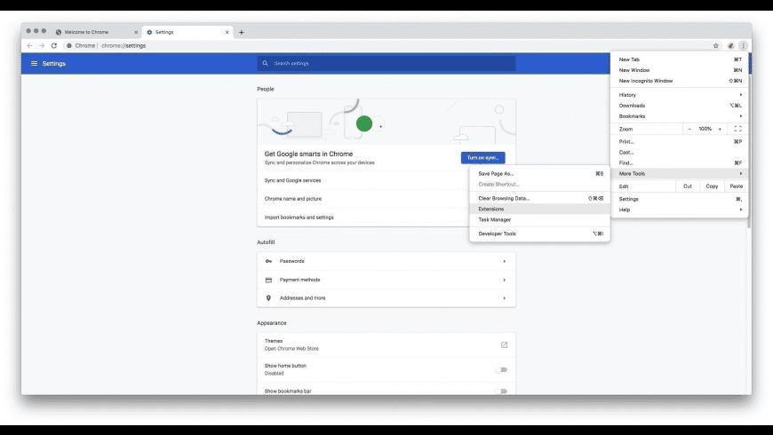Google Chrome for Mac - review, screenshots