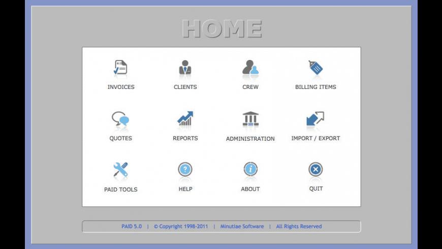 PAID for Mac - review, screenshots