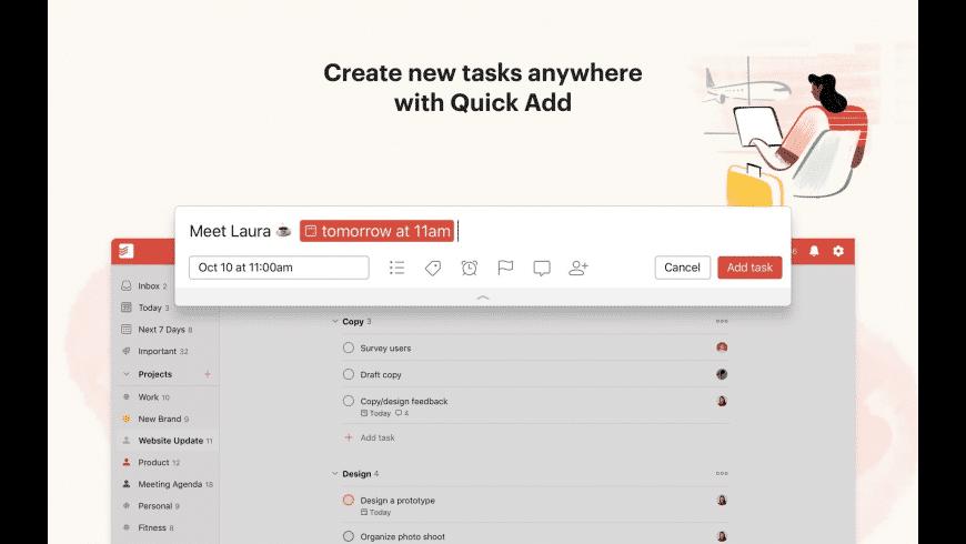 Todoist for Mac - review, screenshots