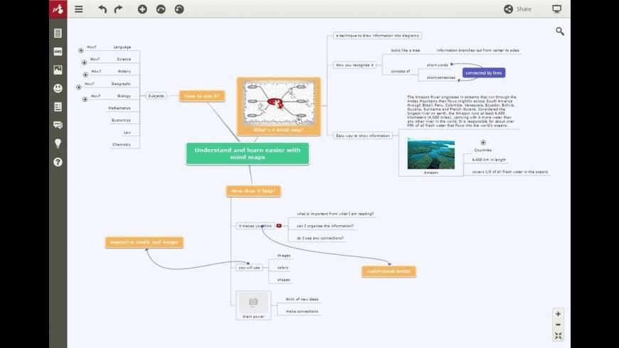 Mindomo for Mac - review, screenshots