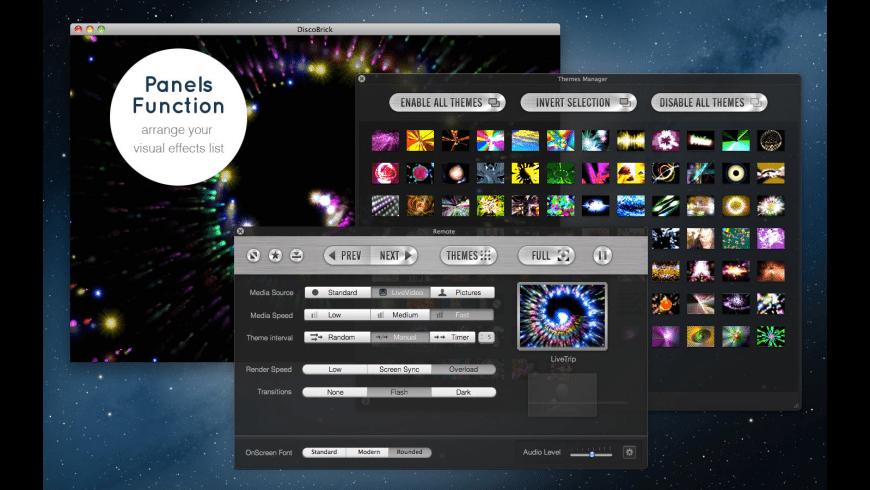 DiscoBrick Pro for Mac - review, screenshots