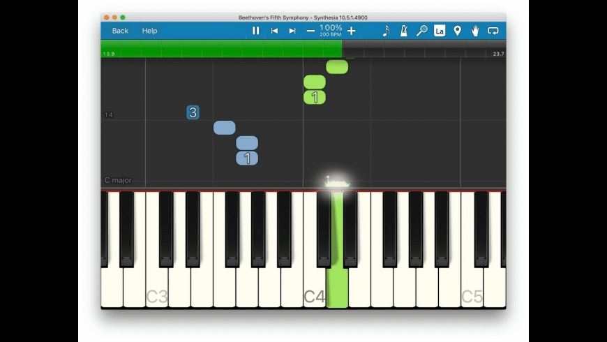 Synthesia for Mac - review, screenshots