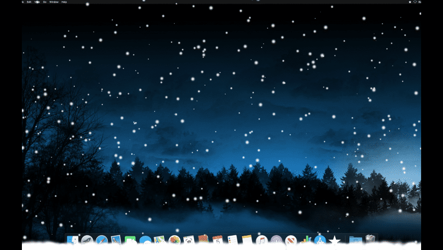 Let It Snow for Mac - review, screenshots