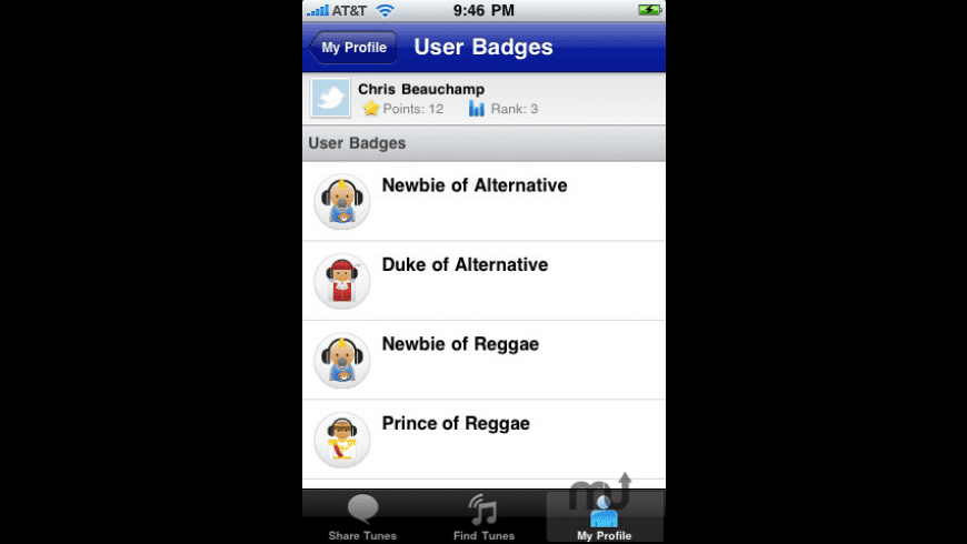 iShareTunes for Mac - review, screenshots