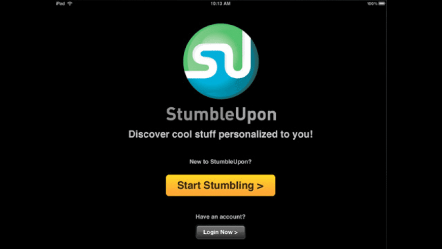 StumbleUpon for Mac - review, screenshots