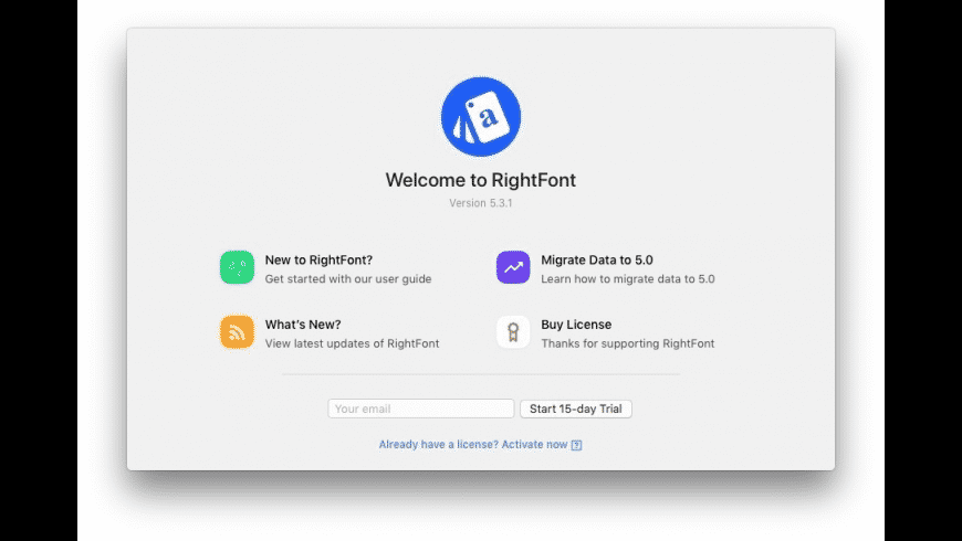 RightFont for Mac - review, screenshots