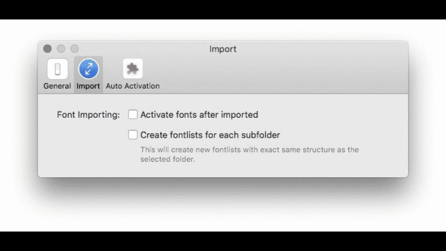 RightFont for Mac - review, screenshots