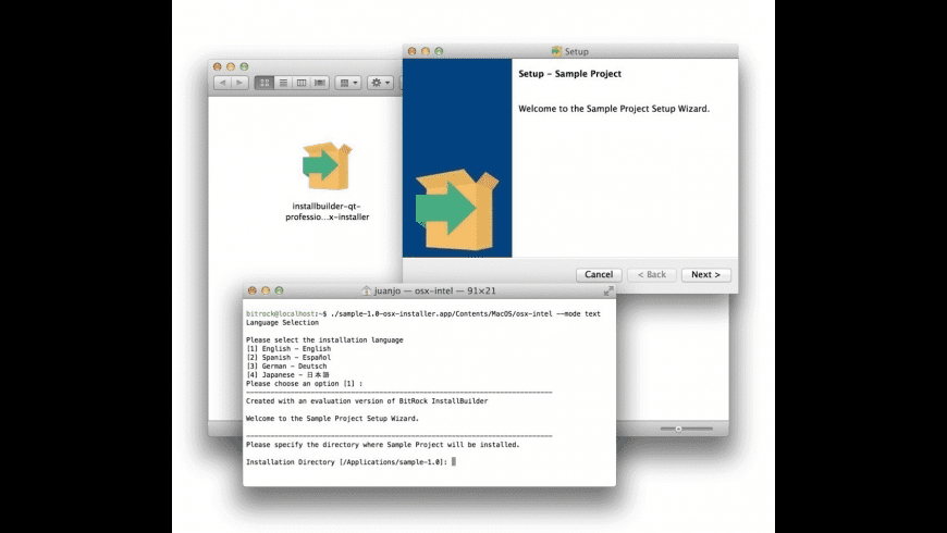 InstallBuilder for Mac - review, screenshots