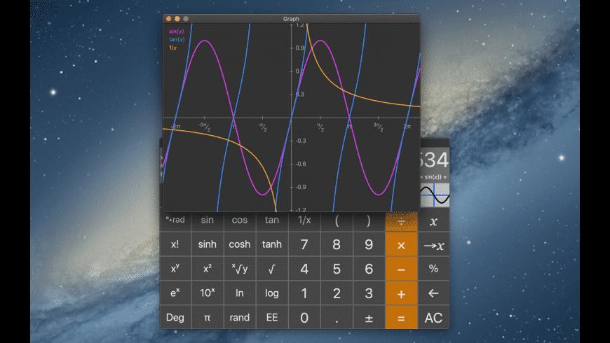GraphCalcPro for Mac - review, screenshots