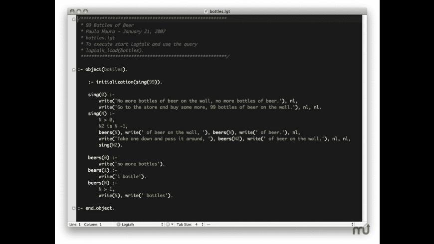 Logtalk for Mac - review, screenshots