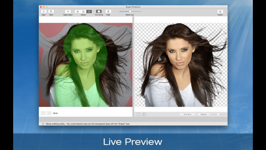 Super PhotoCut for Mac - review, screenshots