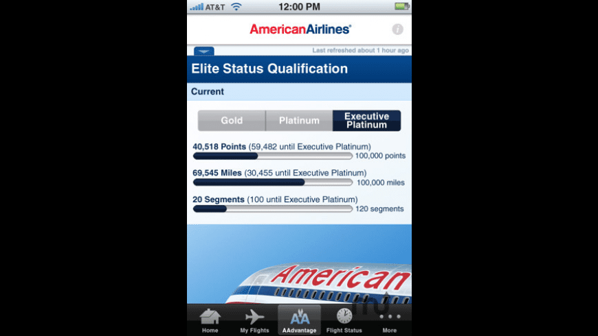 American Airlines for Mac - review, screenshots