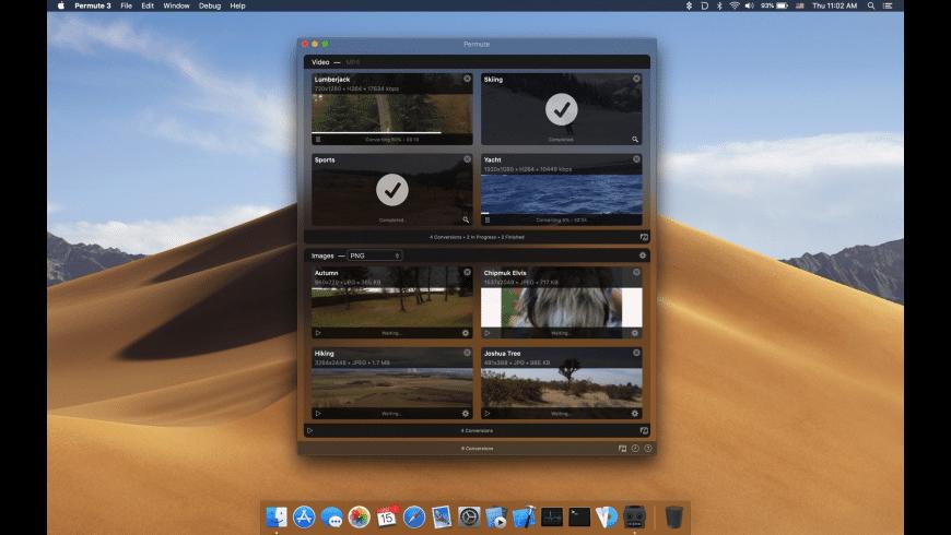 Permute for Mac - review, screenshots