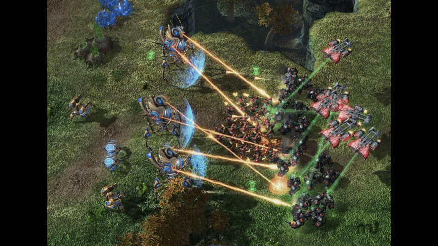 Starcraft II: Wings of Liberty for Mac - review, screenshots