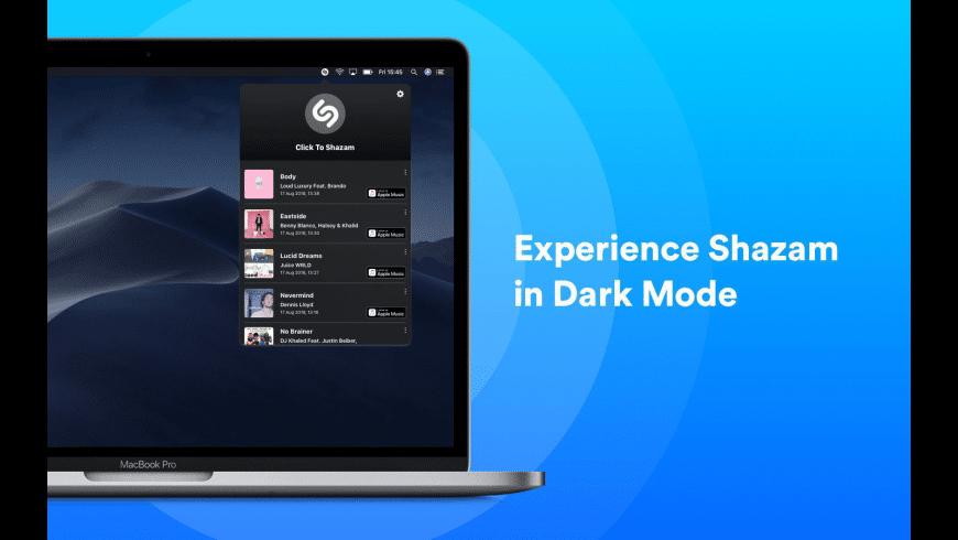 Shazam for Mac - review, screenshots