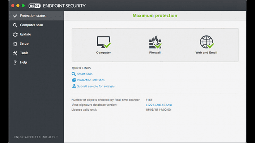ESET Endpoint Security for Mac - review, screenshots