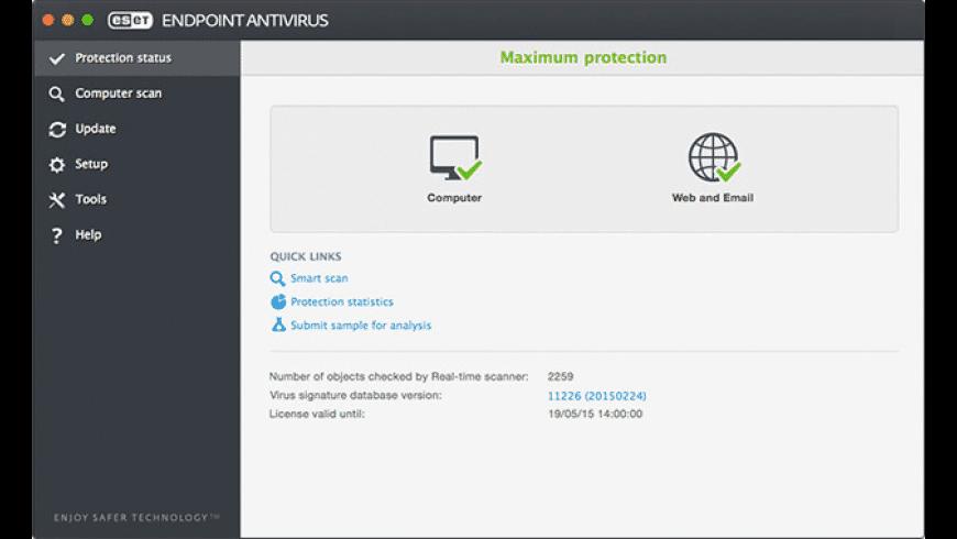 ESET Endpoint Antivirus for Mac - review, screenshots