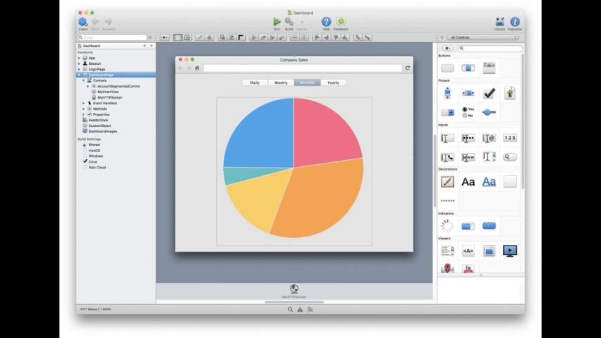 Xojo for Mac - review, screenshots