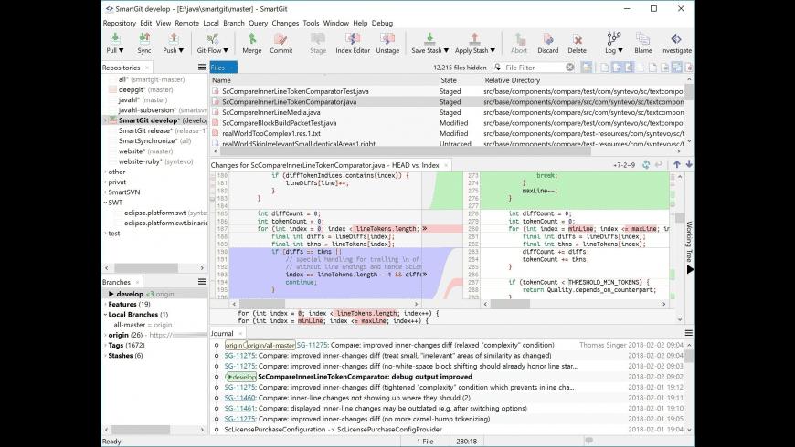 SmartGit for Mac - review, screenshots
