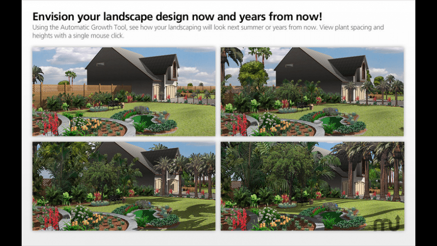 Landscape Design for Mac - review, screenshots
