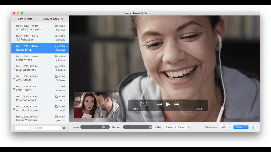 Ecamm Movie Tools for Mac - review, screenshots