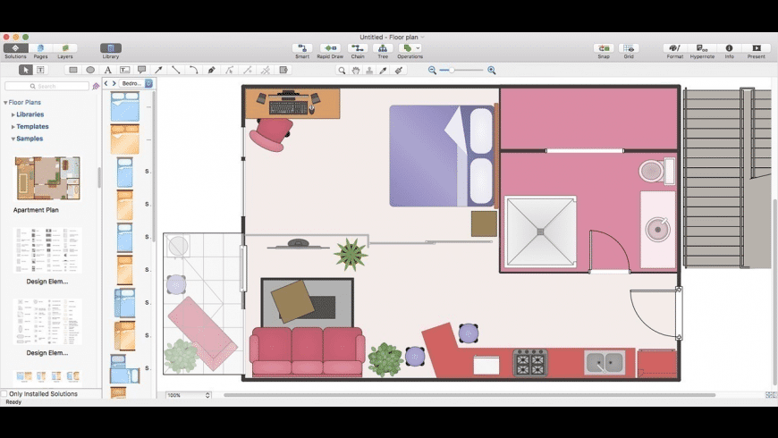 ConceptDraw DIAGRAM for Mac - review, screenshots