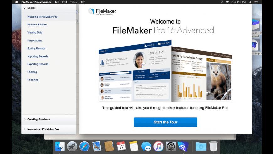 FileMaker Pro Advanced for Mac - review, screenshots