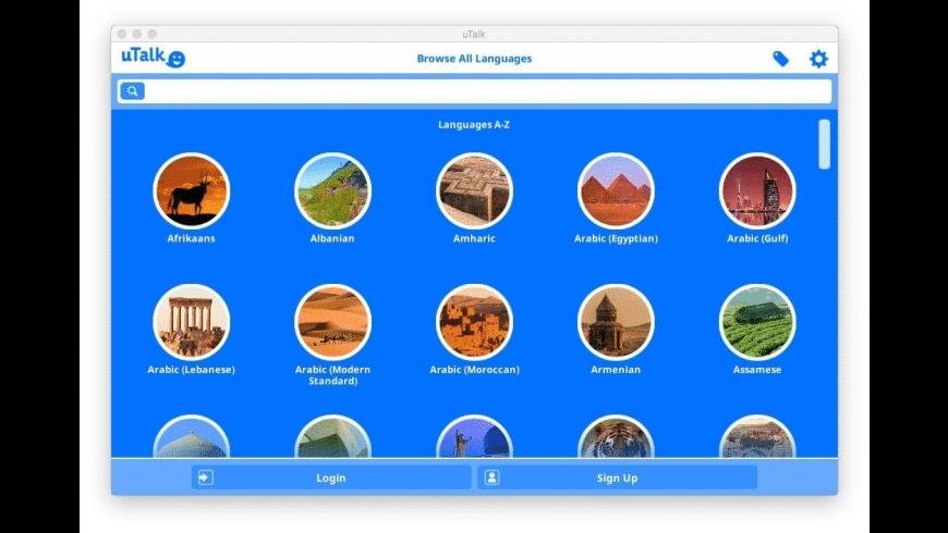 uTalk for Mac - review, screenshots