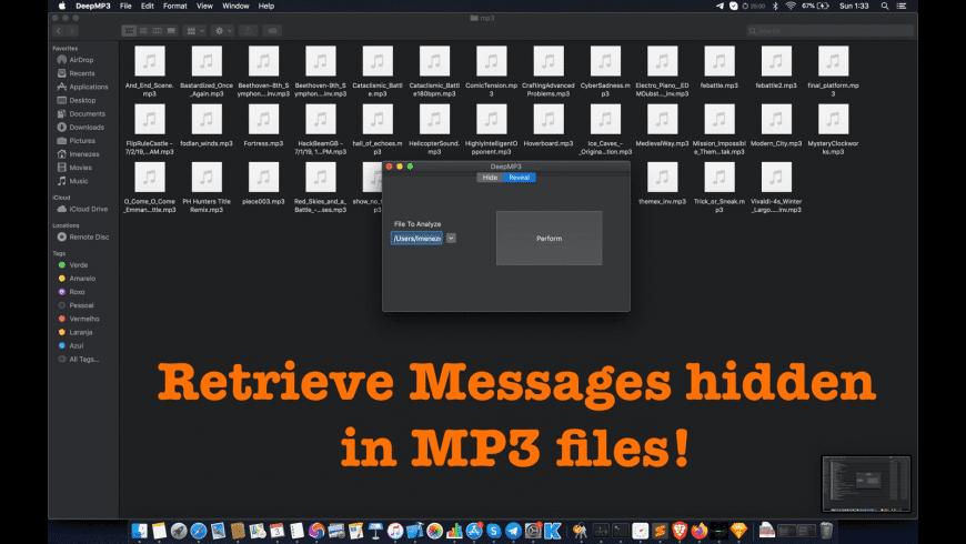 DeepMP3 for Mac - review, screenshots