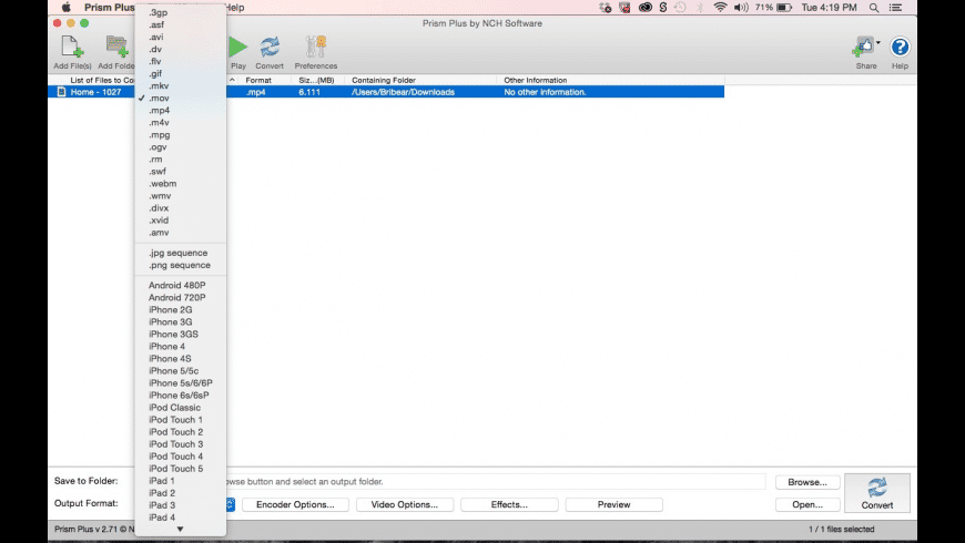 Prism for Mac - review, screenshots