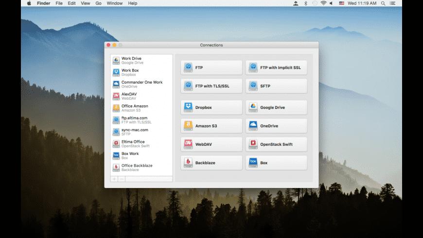 CloudMounter for Mac - review, screenshots