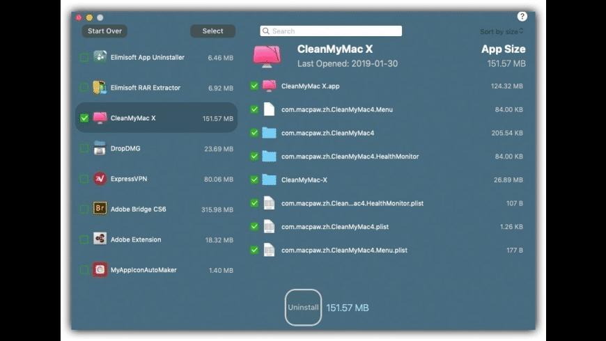Elimisoft App Uninstaller for Mac - review, screenshots