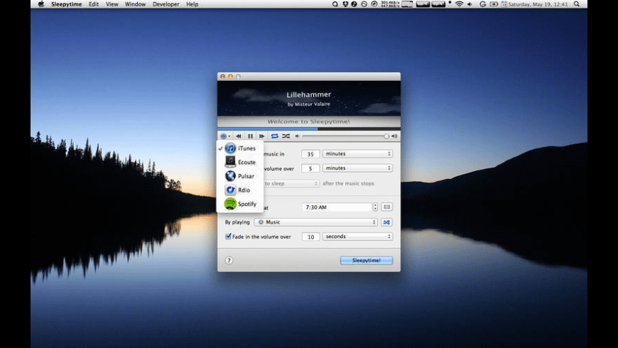 Sleepytime for Mac - review, screenshots