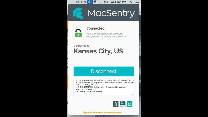 MacSentry for Mac - review, screenshots