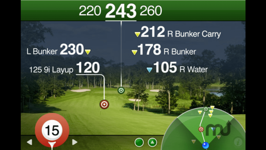 Golfscape GPS Rangefinder for Mac - review, screenshots