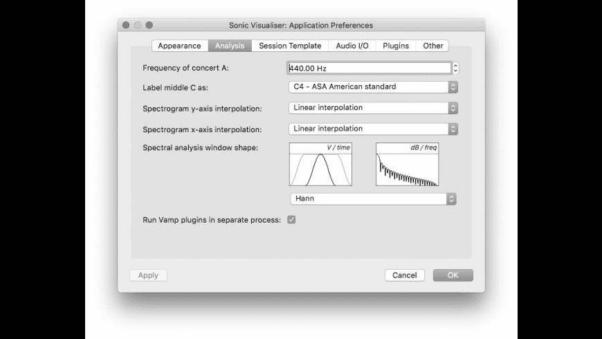 Sonic Visualiser for Mac - review, screenshots