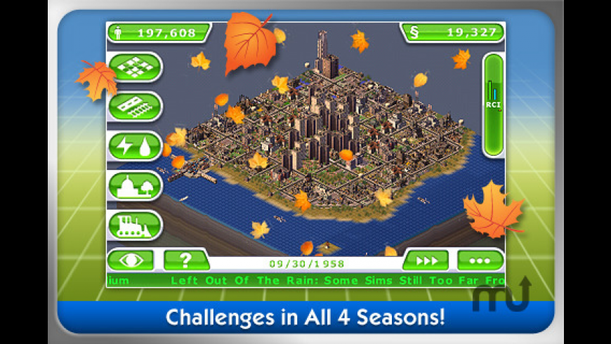SimCity Deluxe for Mac - review, screenshots