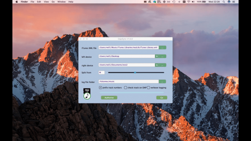 DapSync for Mac - review, screenshots