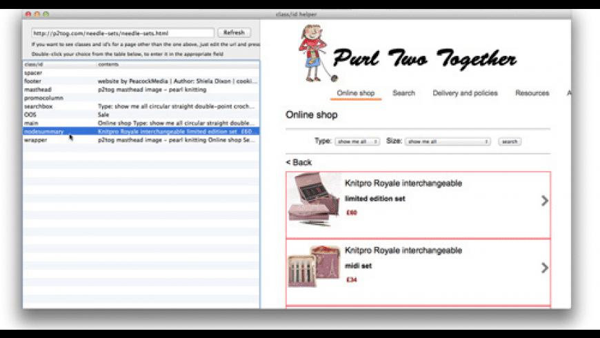 WebScraper for Mac - review, screenshots